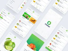 Intro Grocery Shopping App, Ecommerce, E Commerce