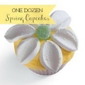 The Sweet Taste of Spring- One Dozen Spring Cupcakes