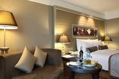 Nice sofa in Club Room at InterContinental Bangkok