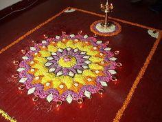 Onam Pictures, Onam Images, Kolam Rangoli, Flower Rangoli, Beautiful Mehndi Design, Beautiful Rangoli Designs, Onam Pookalam Design, Onam Celebration, Indian Rangoli Designs