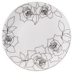 ★ welcome to the pleasure of entertaining daily Frenchbull ★ China Painting, Ceramic Painting, Ceramic Art, Pottery Painting Designs, Paint Designs, Plate Art, Pie Plate, Sculptures Céramiques, Floral Drawing