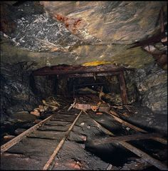 coal mine that once was in Scranton PA