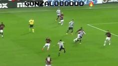 New GIF on Giphy gol calcio juventus milan serie a dybala gonzalo higuain pipita doppietta via diggita.it