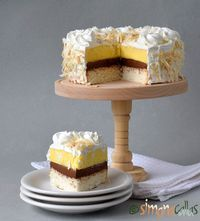 Tort cu cocos vanilie ciocolata si frisca Romanian Desserts, Romanian Food, Sweets Recipes, Easy Desserts, Cake Recipes, Torte Recepti, Sweet Pastries, Something Sweet, Confectionery
