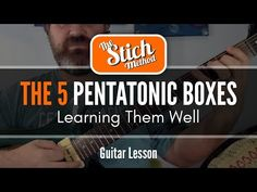 Do You Know Your Five Pentatonic Boxes? - YouTube