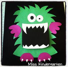 Miss Kindergarten...super cute monsters!