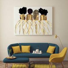 Artwork For Living Room, Living Room Decor, Bedroom Decor, Interior Design Living Room, Living Room Designs, Interior Decorating, Room Colors, House Colors, Funky Home Decor