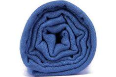 Pashmina écharpe bleu foncé pour homme et femme