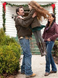 Charlie, Renesmee & Sue Clearwater