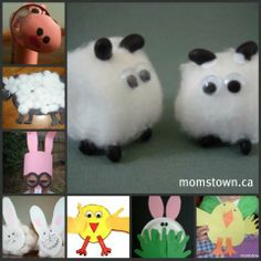 baby animal crafts