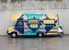 Erik's Designbuss, a mobile design studio