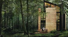 Fraternité-sur-Lac - Picture gallery #architecture #interiordesign #landscape