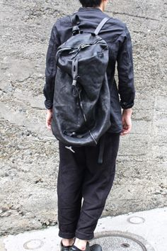 2a6c9aa11651 2 ways bag. Calf leather  oxidized 925 silver. Black. « GULLAM