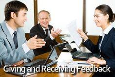 Oferirea şi primirea de feedback