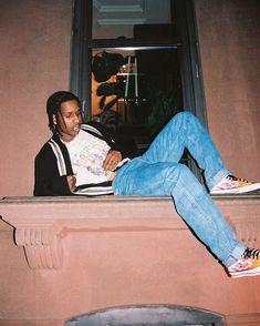 Asap Rocky Outfits, Asap Rocky Wallpaper, Asap Rocky Fashion, Lord Pretty Flacko, Harlem Nyc, A$ap Rocky, French Montana, Hip Hop Rap, Poses