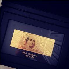 #gold #dollar #24k