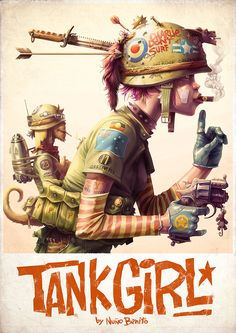 Tank Girl- Poster on Behance