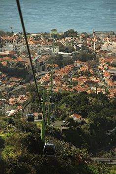 Cable Car Ride, Funchal, Madeira, Portugal