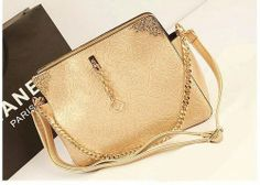 BG4389-Gold | Supplier Fashion Import Murah Grosir Fashions Baju Tas Import Murah