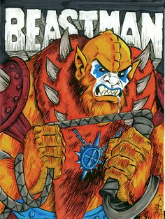Beast Man by Bobby Timony