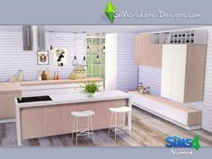 Bringing for your sims a new kitchen today :) Found in TSR Category 'Sims 4 Kitchen Sets'