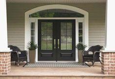 Ideas of Exterior Steel Double Doors