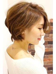 【Linona/葛城奈菜海】☆ワンサイドショートボブ☆ - 24時間いつでもWEB予約OK!ヘアスタイル10万点以上掲載!お気に入りの髪型、人気のヘアスタイルを探すならKirei Style[キレイスタイル]で。
