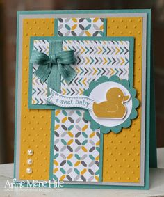 Stampin' Anne: Hello Honey Duck for Paper Players #197