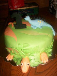 Dino cake :)
