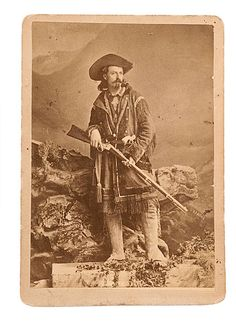 a young Buffalo Bill Cody c. 1870 -80.- my great-grandmother, grandmother and great uncle all knew Buffalo Bill while they all lived here in Denver....ms