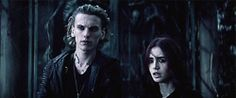 the mortal instruments Jace Wayland clary fray jamie campbell bower City of Bones lilly collins sikanapanele