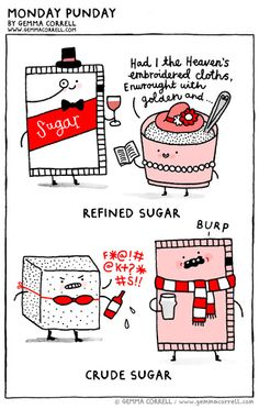 gemma correll and her merry band of misfits: the pun also rises.