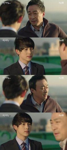 "'Misaeng' Lee Sung Min consoles Im Si Wan, ""It's not your fault."" - http://asianpin.com/misaeng-lee-sung-min-consoles-im-si-wan-its-not-your-fault/"