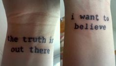 X-files FTW! Guess who can get tattooed again!!??