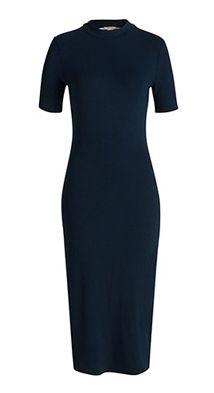 Esprit / Maxi pouzdrové šaty z žerzeje