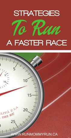Here are some strategies you can use now to make your next race faster.