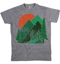 Men's Mountain Tshirts