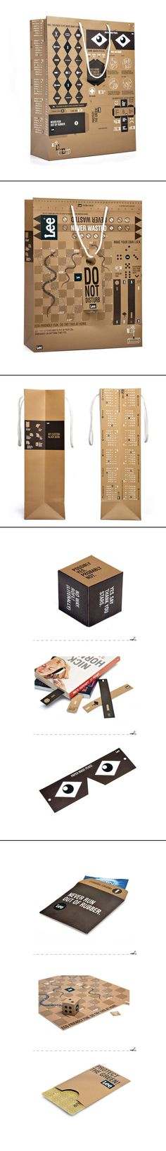 Lee Never Wasted #packaging #paper #bag