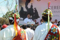 """""""Este es un día de fiesta para el Totonacapan y para Veracruz. Este reconocimiento es un ejemplo de que trabajando bajo un mismo esquema podemos alcanzar mejores condiciones de bienestar para los veracruzanos"""", mencionó el gobernador."""