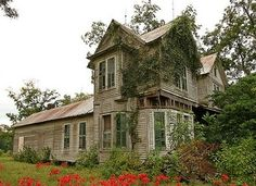 Nature is taking it back. Would love to see a picture of home when it was new.