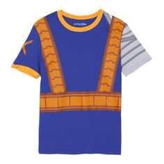 Marvel Comics X-Men Cable Adult Costume Ringer T-shirt - Blue #easy #halloween