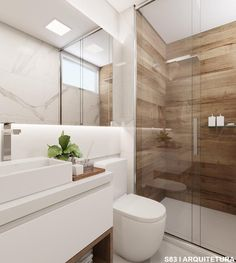 6 Most Useful Small Bathroom Design Ideas - Des Home Design Upstairs Bathrooms, Laundry In Bathroom, Small Bathroom, Bathroom Ideas, White Bathroom, Modern Bathroom Design, Bathroom Interior Design, Comfort Room, Bathroom Design Inspiration