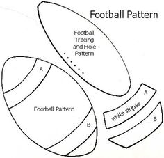 Free Football Pattern and Instructions for Scrapbooking: Free Football Pattern… Football Quilt, Football Crafts, Free Football, Football Stuff, Baseball Scrapbook, School Scrapbook, Scrapbook Cards, Scrapbook Layouts, Paper Piecing Patterns
