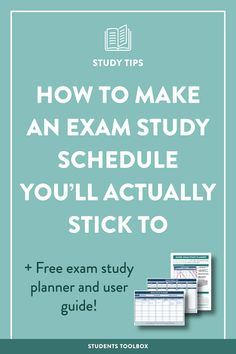 Want to create a perfect study schedule for final exams and actually stick to it? Want to get a printable template and planner for your study plans? This post is a guide to help you make a study and assignment plan for your finals with some downloadable planners and guides!