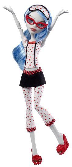 Monster High - V7973 - Poupée Pyjama Monster High - Ghoulia Yelps: Amazon.fr: Jeux et Jouets