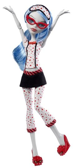 Amazon.com: Monster High Dead Tired Ghoulia Yelps Doll: Toys & Games