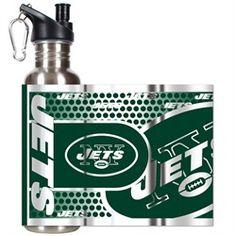 New York Jets NY BPA Free Water Bottle