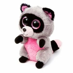 Ty Beanie Boos Plush Rocco the Raccoon