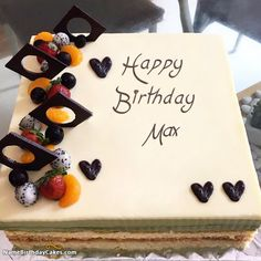 Happy Birthday Max - Video And Images