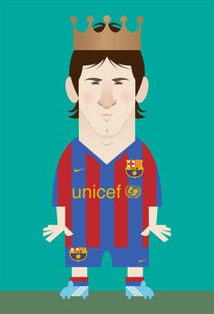 Lionel Messi by Stanley Chow www.footballvideopicture.com